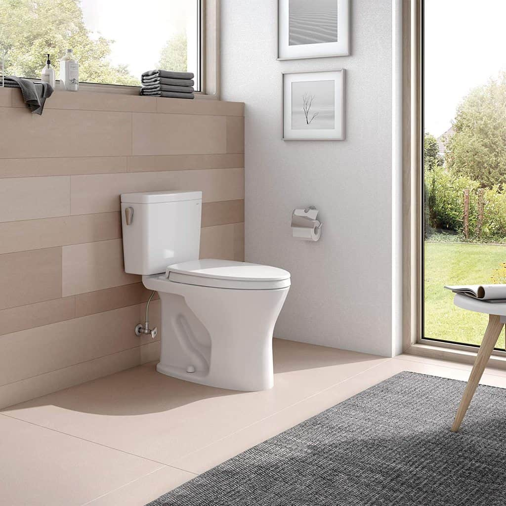 Two-Piece Elongated Dual Flush Toilet