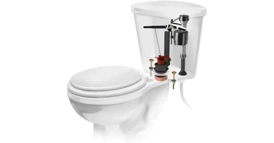 Universal All In One Complete Toilet Tank Repair Kit