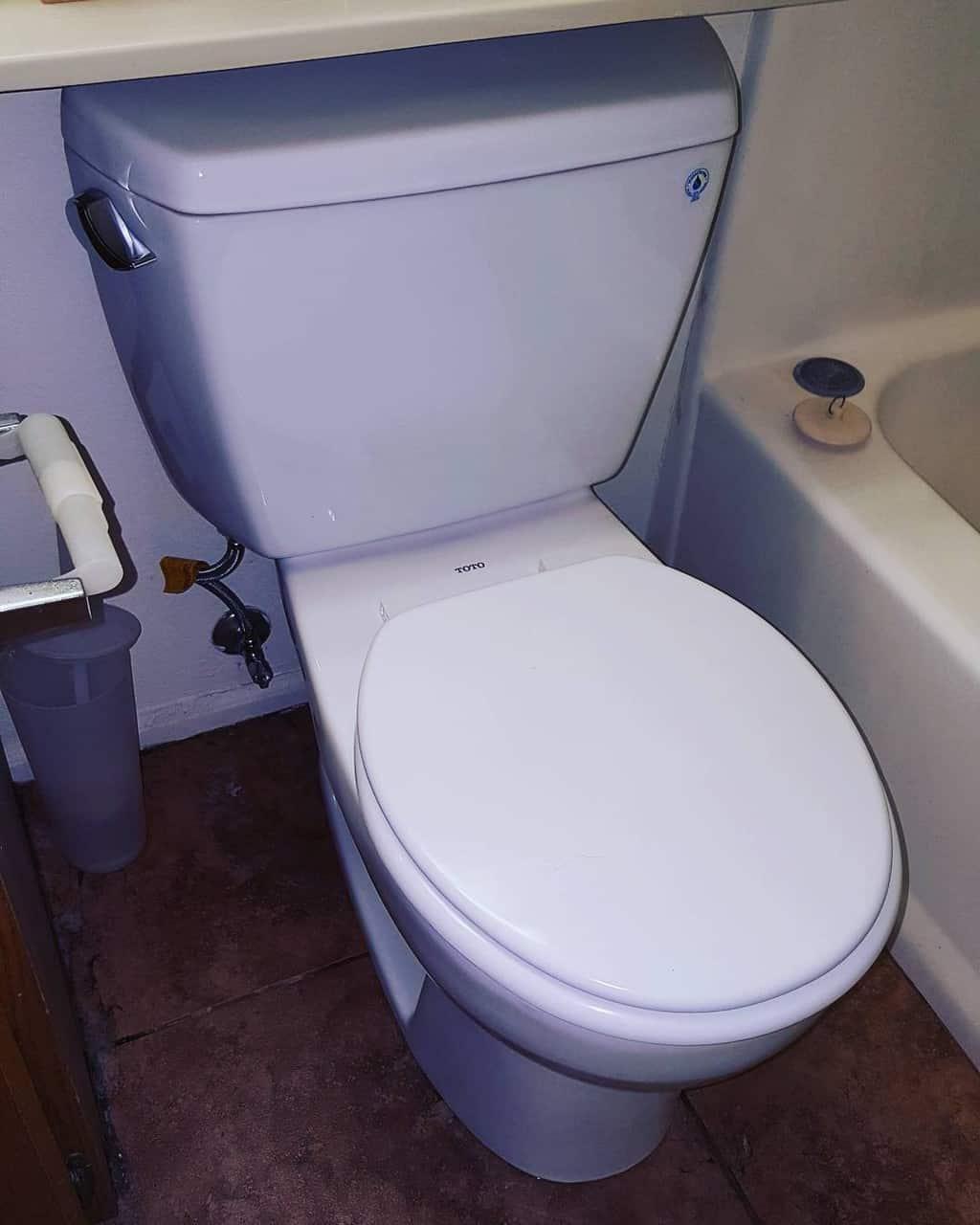 toto drake 2 piece toilet