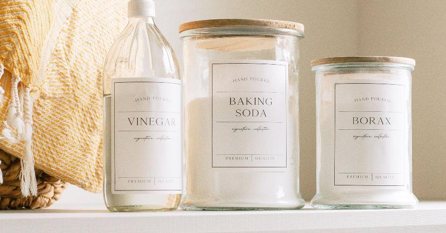 Vinegar and Borax