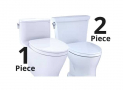1 Piece vs 2 Piece Toilet: Pros, Cons and Comparison