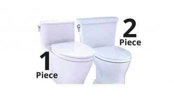 1 Piece vs 2 Piece Toilet: Pros, Cons and Comparison